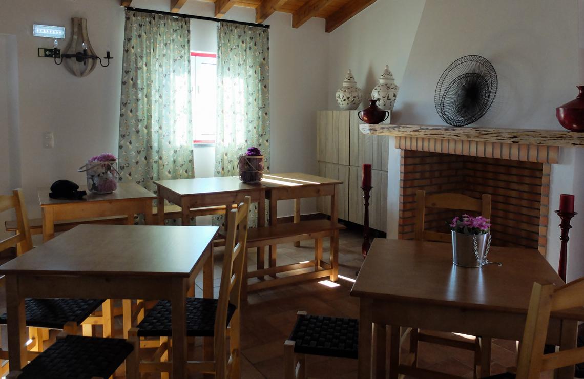 A sala de refeições